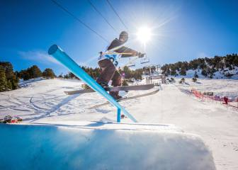 Alex Hall se lleva el hacha de oro del Grandvalira Total Fight