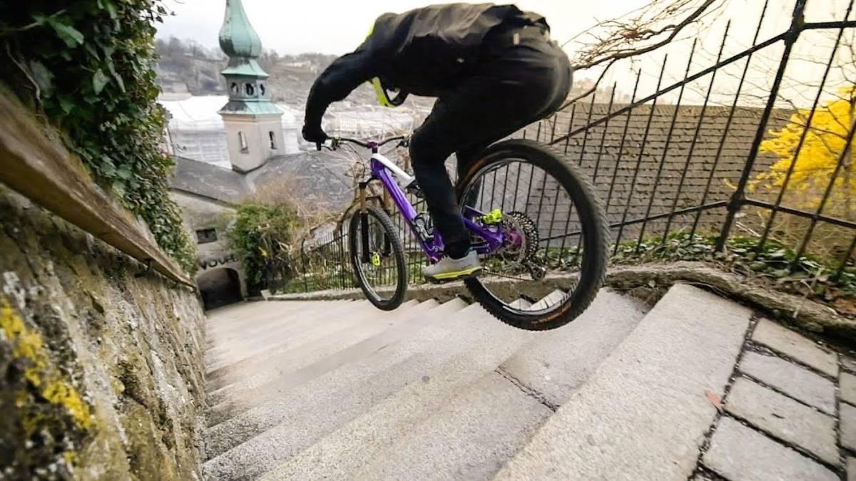 Mtb Freeride Urbano Por Las Calles De Salzburgo As Com