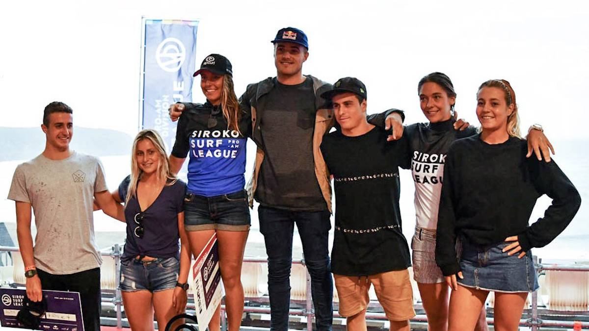 Campeonas Siroko Surf League SSL 2017 - Pantín