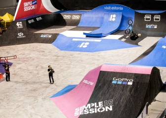 Simple Session 2018: victorias de Jagger Eaton, Jose Torres y Garrett Reynolds