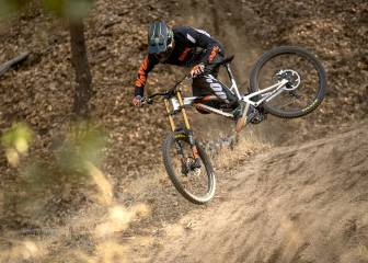 Downhill al ritmo de Iron Maiden