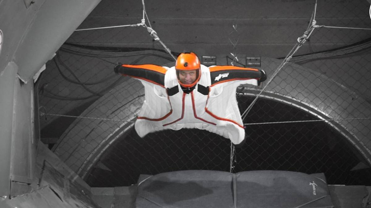 indoor wingsuit flying stockholm