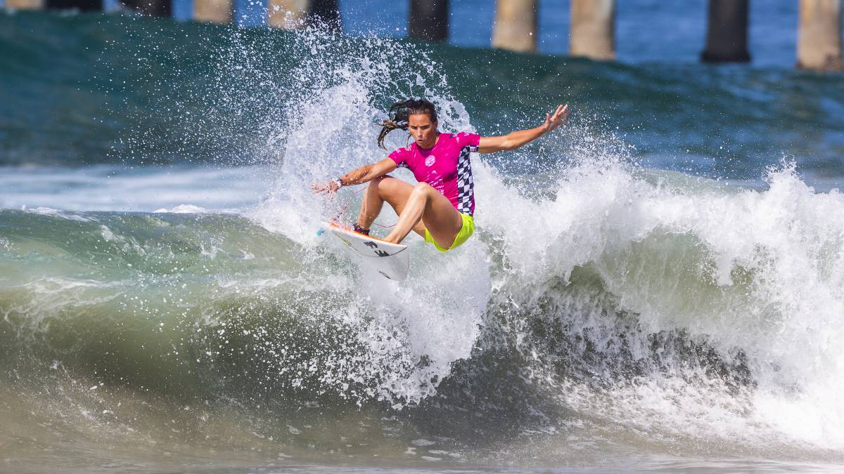 courtney conlogue vans us open of surfing huntington beach
