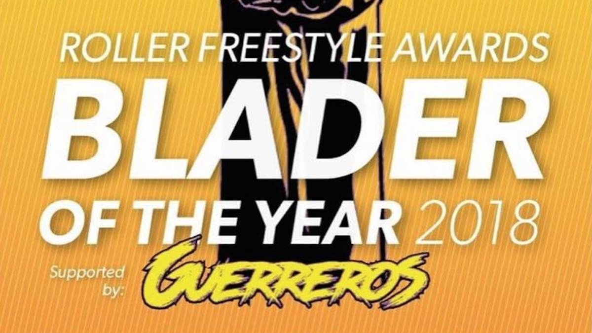 Blader of the year 2018 Inline Roller Freestyle votaciones cartel guerreros