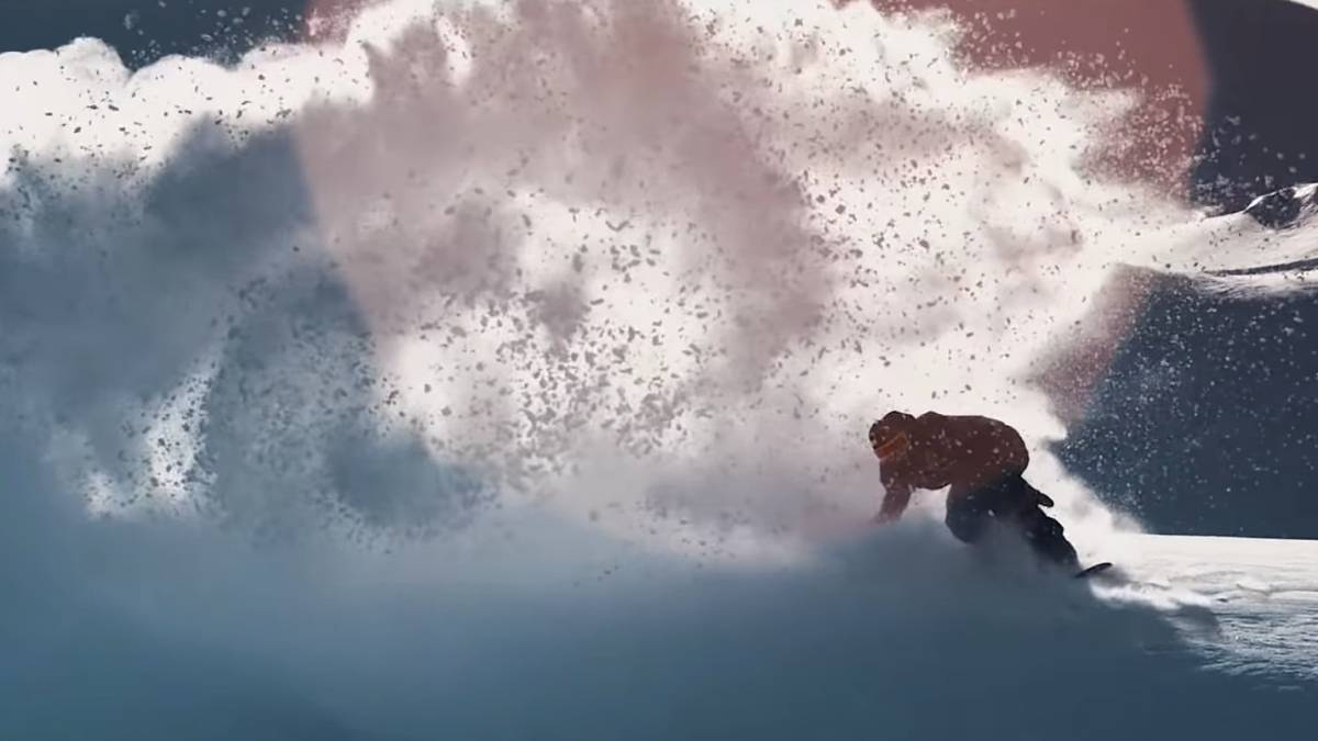 frozen mind video snowboard freeride victor de le rue the north face