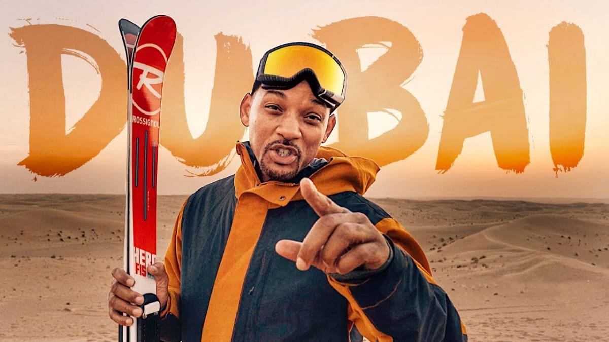 will smith dubai esquí ski desierto youtube