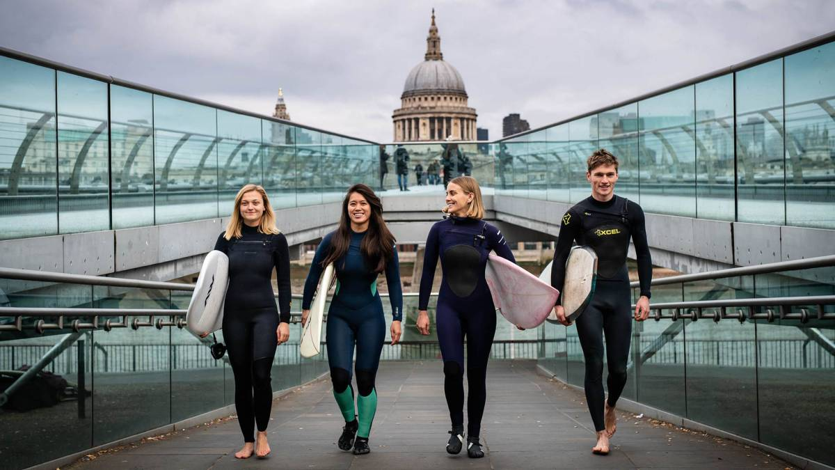 The Wave London surf piscina olas artificiales londres