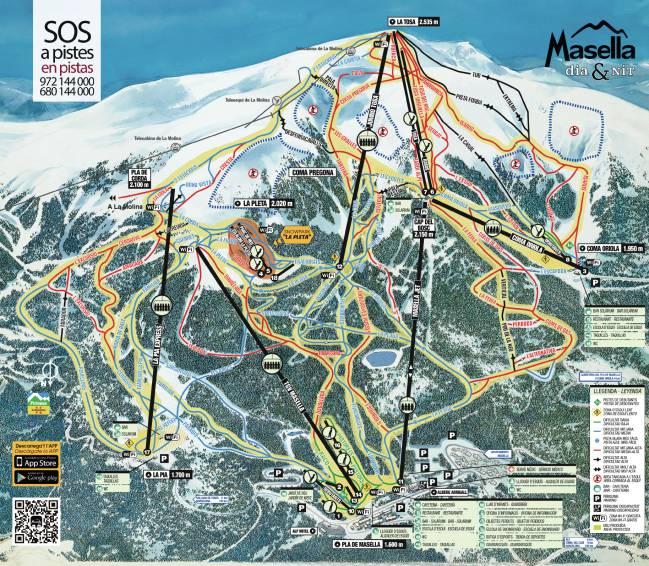 Estaciones De Esqui Mapa.Las 15 Mejores Pistas De Esqui De Espana Lista Y Mapa De Estaciones As Com