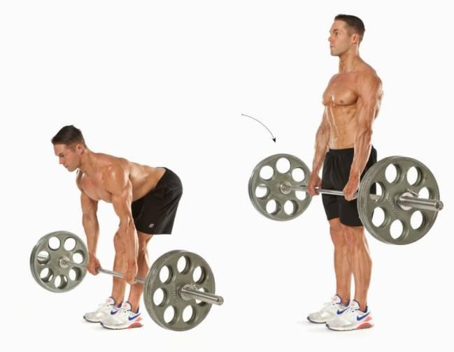 entrenamiento piernas breach pesas