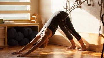 quality design 23812 e32f9 Accesorios de yoga y pilates para entrenar cuerpo y mente en casa.  Practicar estas disciplinas es todo ventajas
