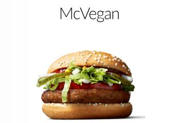 Mc Donald's lanza Mc Vegan, una hamburguesa para vegetarianos