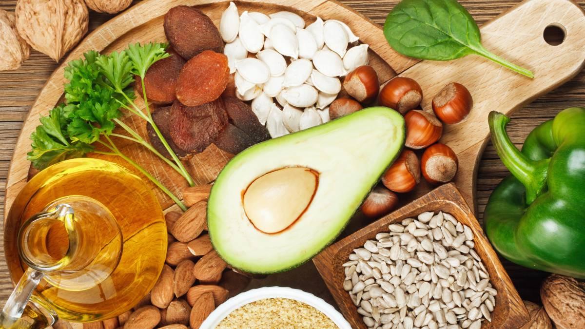 Alimentos que aportan Vitamina E