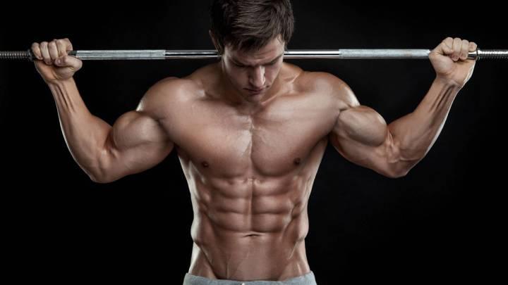 como aumentar la fuerza de brazos