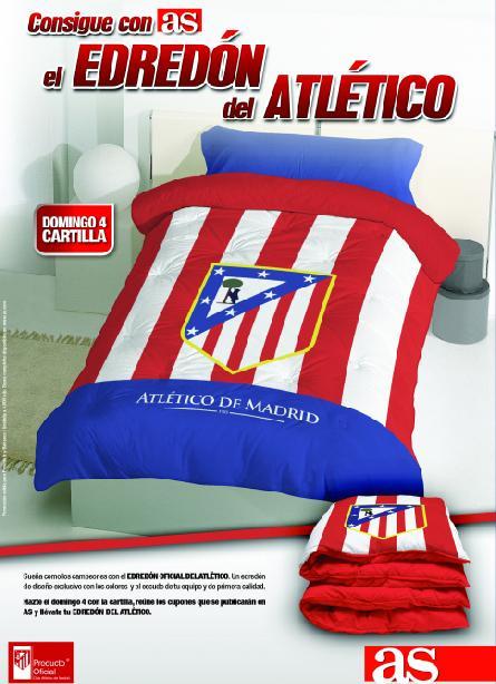 Edredon Atletico.Consigue Con As El Edredon Del Atletico Promociones As Com