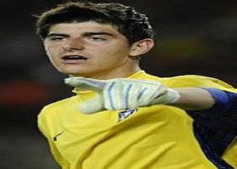 Once ideal de promesas en 2012: Thibaut Courtois (portero)