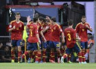 Spain win their group with an inspired Jesé