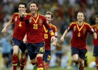 Ramos, Torres and Iniesta in Confederations Dream Team