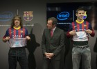 Barcelona shirts will feature the Intel logo inside