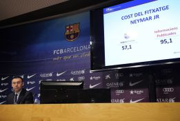 Total cost of Operation Neymar: up to 130.2 million euros