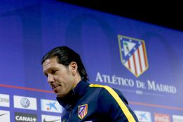 "Simeone: ""Is it uncomfortable being where we are? Yes"""