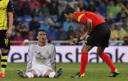 Cristiano will miss visit to Anoeta this weekend