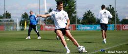 Cristiano reports for intensive training session on day off