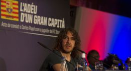 "Puyol: ""I gave everything for Barça and football"""