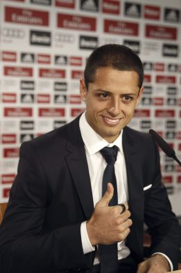 "Chicharito: ""I needed a move like this; here, they demand 100%"""
