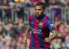 Dani Alves will be available for the Clásico