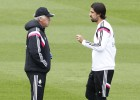Khedira continues to train apart from his team-mates
