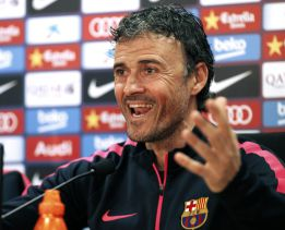 "Luis Enrique: ""5-0? There's been no talk of that amongst us"""