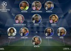 Neymar, Marcelo, Thiago and Morata in UCL team of week