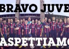 Barça congratulate Juventus on their Coppa Italia victory