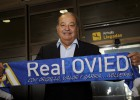 Carlos Slim arrives in Asturias to support Real Oviedo