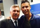 Ronaldo hopes to work with Ancelotti next season