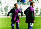 Benítez with 17 years already under his belt at Madrid