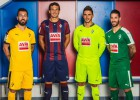 Eibar present their 2015/16 kit