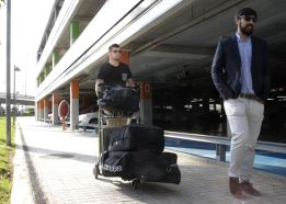 Matt Ryan arrives in Valencia to undergo medical revision