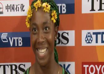 La Bolt femenina: Shelly-Anna Fraser.Pryce
