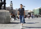 Zhang's sunny afternoon; a stroll through Madrid with AS