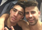 "Piqué to Munir: ""Next time leave it for me, ok?"""