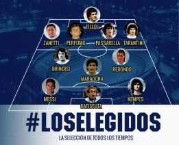 Calendario 1978 Argentina.The Argentine Fa Chooses Its Greatest Xi Of All Time As Com