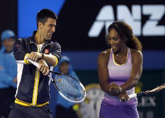 Djokovic y Serena, a por el Happy Slam
