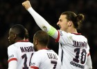 Ibrahimovic goal secures maximum points for PSG