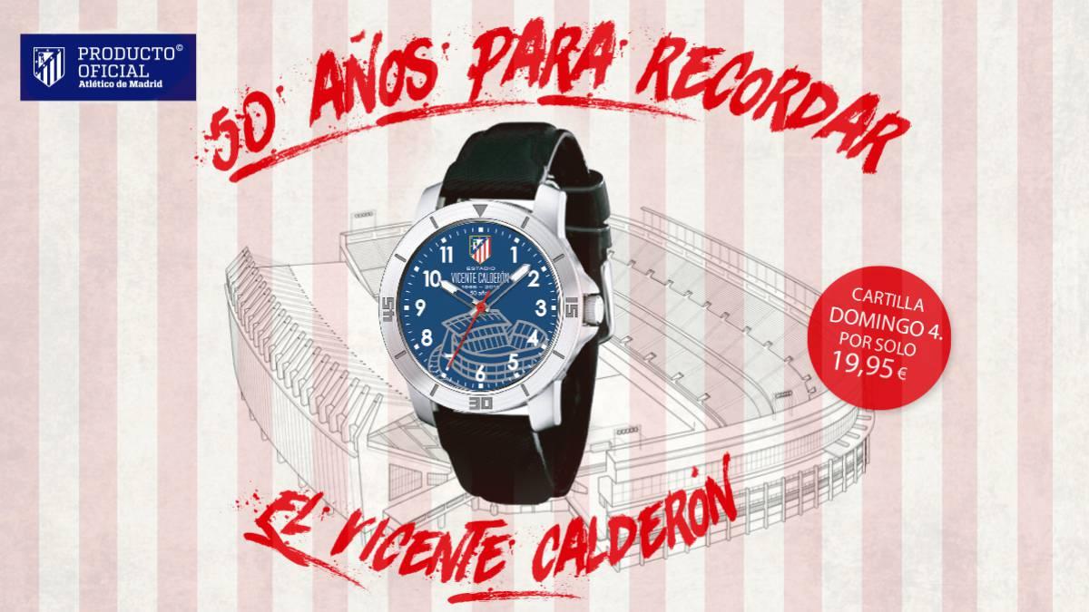 474620305ae2 Reloj Oficial del Vicente Calderón - AS.com