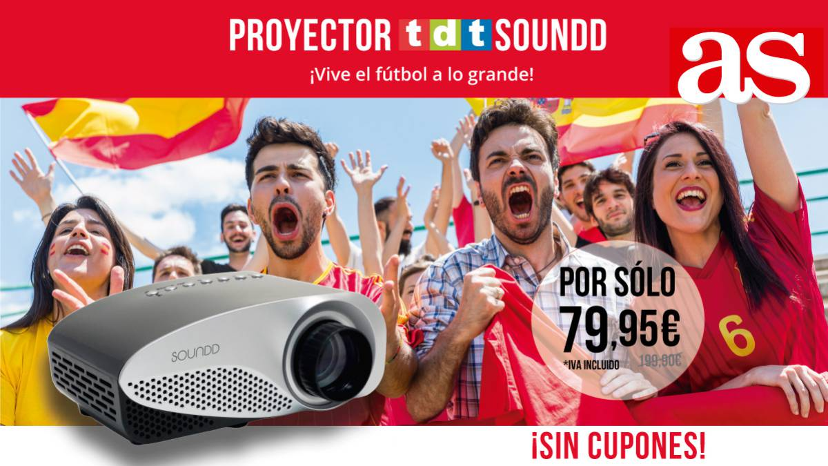 PROYECTOR CON TDT SOUNDD