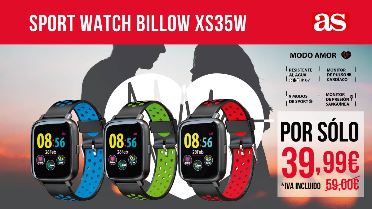 SPORT WATCH BILLOW XS35X