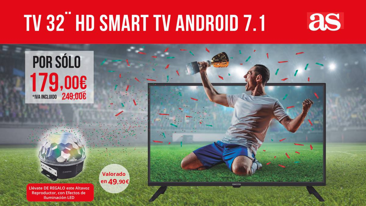 "TV 32"" HD SMART TV MANTA"