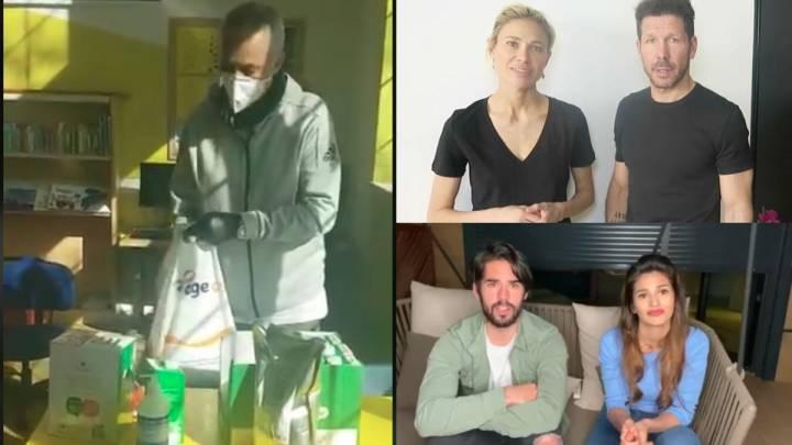 Los grandes gestos del mundo del deporte ante el coronavirus