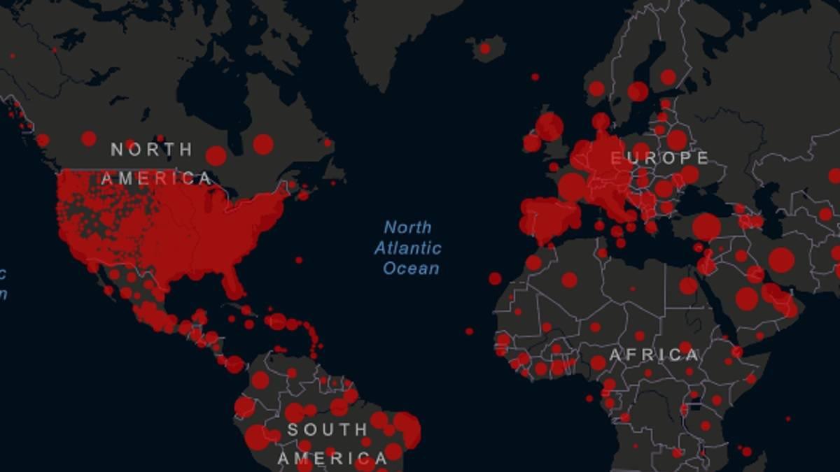 Mapa del coronavirus en el mundo, en tiempo real hoy, 23 de mayo: casos y muertos